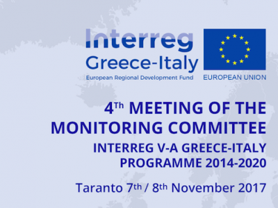 Monitoring Committee Meeting: Taranto 7-8 November 2017