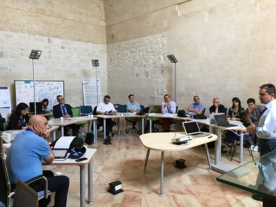 Kick-off meeting Ofidia 2 project: preventing and fighting forest wildfires in Puglia Region and in Greece