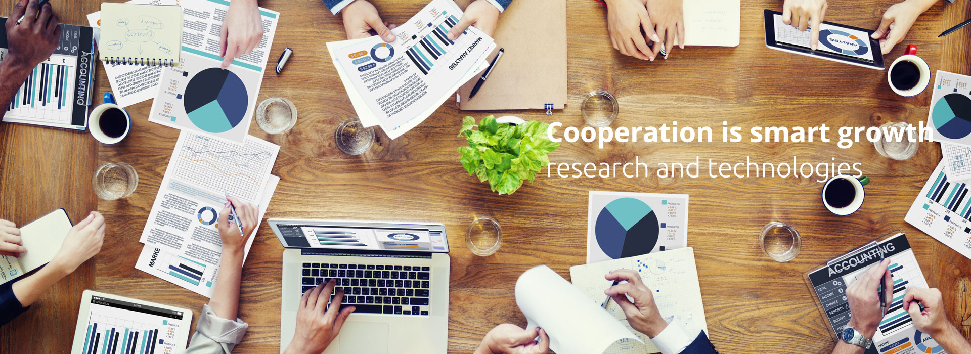 Cooperation is smart growth  research and technologies