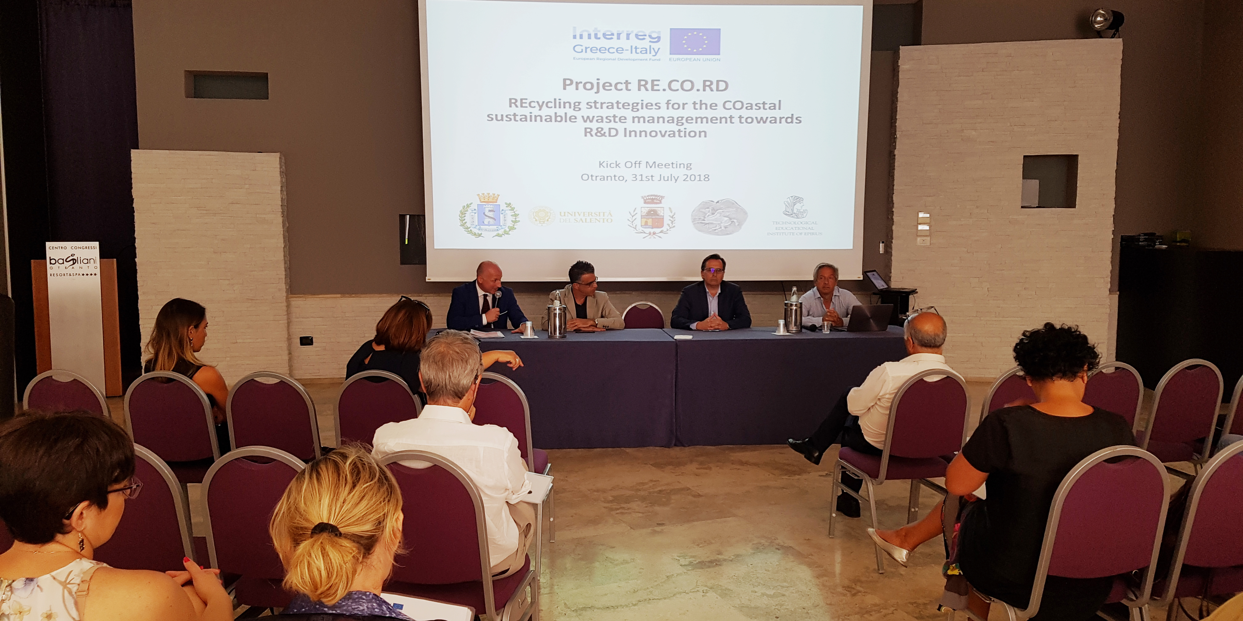 Kick-off meeting of Record project: new recycling solutions for the
