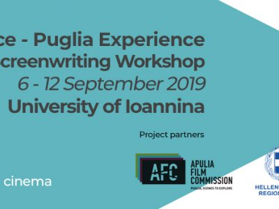 Lights, camera, action! CIAK Screenwriting Workshop in Ioannina September 6 – 12